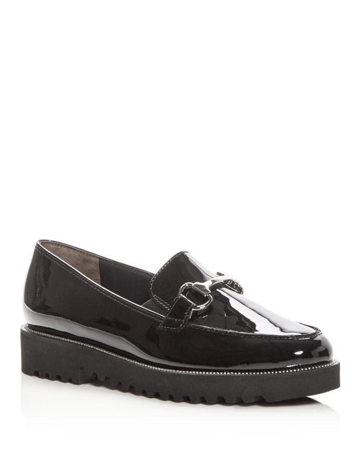 Paul Green Women's Nandi Patent Leather Platform Loafers    Bloomingdale's