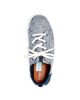 TOMS - Boys' Lenny Chambray Lace Up Sneakers - Toddler, Little Kid, Big Kid