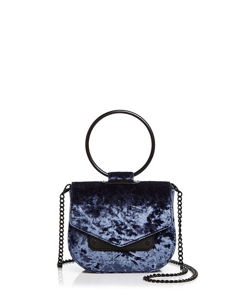 Nasty Gal - Ring Leader Crushed Velvet Crossbody