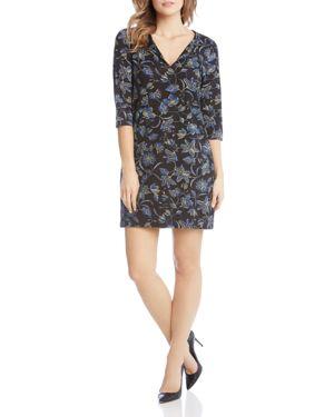 Karen Kane Floral-Print Dress