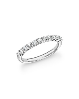 Bloomingdale's - Diamond Band in 14K White Gold, .50 ct. t.w. - 100% Exclusive