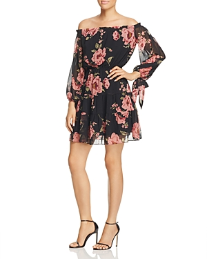 Lucy Paris Rosita Tiered Off-the-Shoulder Dress - 100% Exclusive