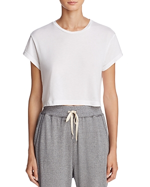Click here for Splendid WeWoreWhat x Bloomingdales Cropped Tee -... prices