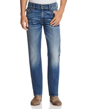 True Religion Ricky Traveler Relaxed Fit Jeans in Blue Wash
