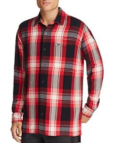 True Religion Long Sleeve Plaid Pocket Shirt - Bloomingdale's_0