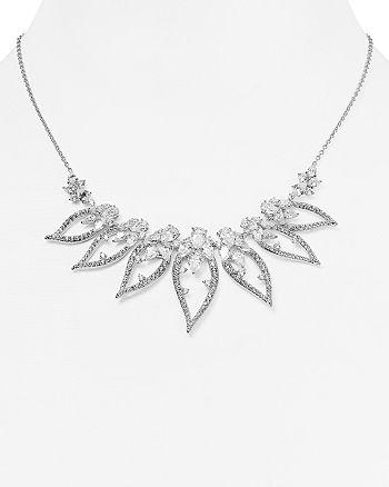 """Nadri - Calla Frontal Necklace, 15"""""""