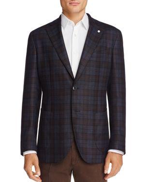 L.b.m Windowpane Slim Fit Sport Coat