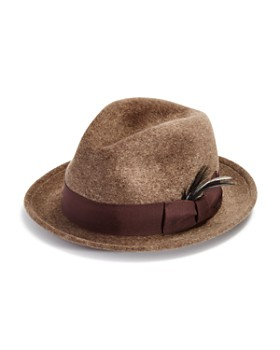 Bailey of Hollywood - Riff Polished Wool Center Dent Crown Hat - 100% Exclusive