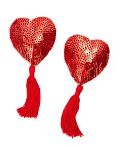 Bristols Six - Nippies Tassel Heart-Shaped Pasties
