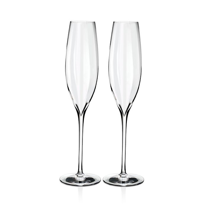 Waterford - Elegance Optic Classic Champagne Flute, Set of 2