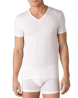 Armani - Stretch Cotton V-Neck T-Shirt