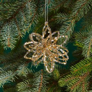 Bloomingdale's Tinsel Star Ornament - 100% Exclusive