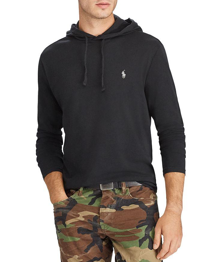 d9265876 Polo Ralph Lauren Jersey Long Sleeve Tee Hoodie | Bloomingdale's