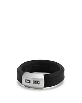 David Yurman - Men's Hex Ring in Black