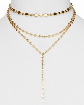 BAUBLEBAR - Aimee Y Choker Necklace, 12""