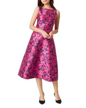 Hobbs London Florentine Floral-Print Dress