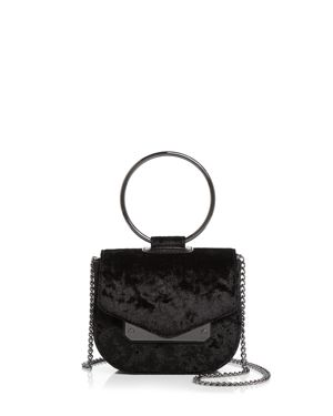 Nasty Gal Ring Leader Crushed Velvet Crossbody 2683882