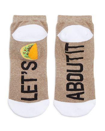 Sock Art - Let's Taco 'Bout It Ankle Socks