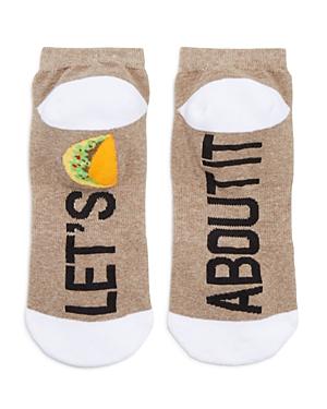Sock Art Let's Taco 'Bout It Ankle Socks
