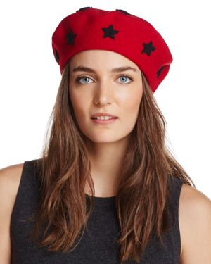Helene Berman Wool Star Beret