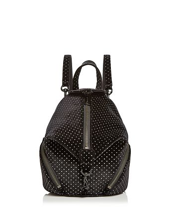Rebecca Minkoff - Julian Convertible Mini Velvet Backpack - 100% Exclusive