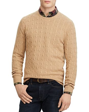 Polo Ralph Lauren - Cable-Knit Cashmere Crewneck Sweater