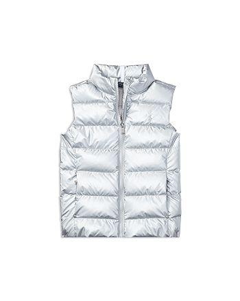 7d5df1a3f Ralph Lauren Girls' Down Vest - Big Kid   Bloomingdale's
