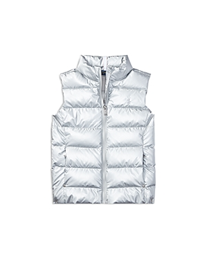 Ralph Lauren Childrenswear Girls' Down Vest - Big Kid