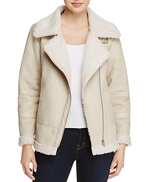 Sadie & Sage Faux-Shearling Jacket