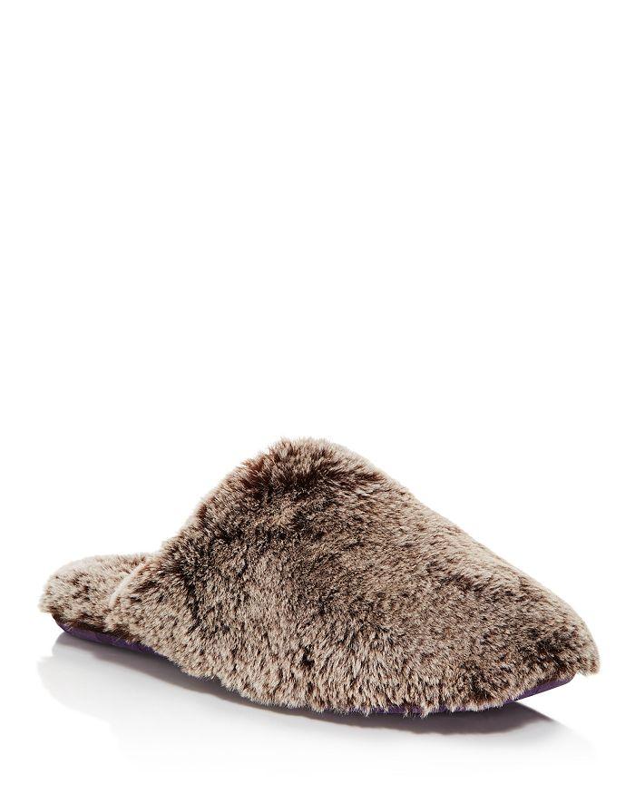 a682c367164322 Ted Baker - Men s Nnyah Faux Fur Slippers
