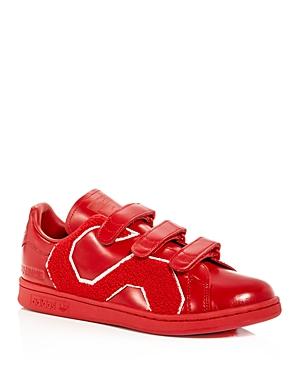 Raf Simons for Adidas Men's Stan Smith Comfort Badge Triple Strap Sneakers