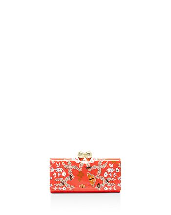 Ted Baker - Milissa Kyoto Gardens Bobble Matinee Wallet