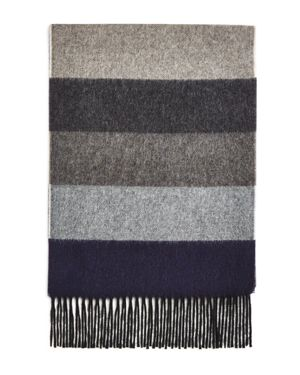 The Men's Store at Bloomingdale's Block-Stripe Cashmere Scarf