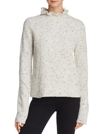 $Joie Adaliz Ruffle-Neck Sweater - Bloomingdale's