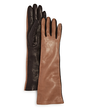 Bloomingdale's Leather Glove with Silk Lining - 100% Exclusive