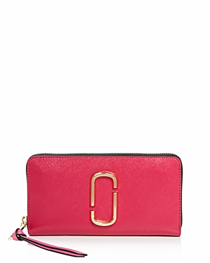 Marc Jacobs Snapshot Standard Leather Continental Wallet