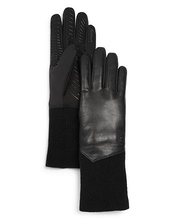 U/R - Leather Tech Gloves