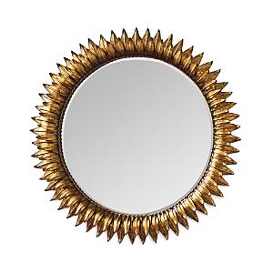 Regina Andrew Design Sunflower Mirror, 30 x 30