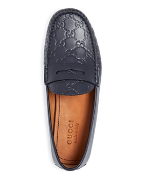 7bf46047f27 ... Gucci - Men s New Kanye Embossed Leather Penny Loafers