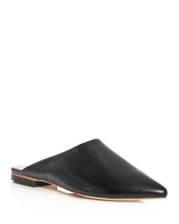 Raye - Women's Starlet Leather Pointed Toe Mules