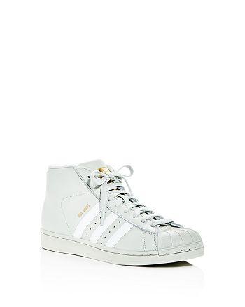 Adidas - Unisex Pro Model Mid Top Sneakers - Big Kid