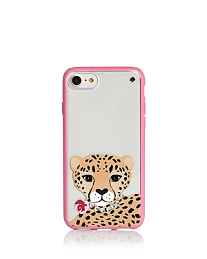 kate spade new york Jeweled Cheetah iPhone 7/8 Case