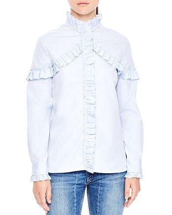 Sandro - Suzy Ruffle Shirt