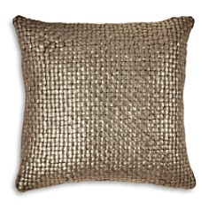 "Michael Aram - Metallic Basketweave Decorative Pillow, 18"" x 18"""