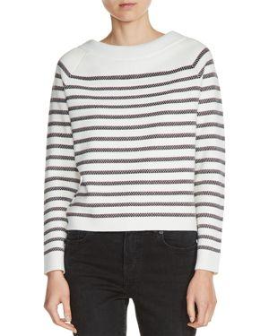 Maje Millau Striped Sweater