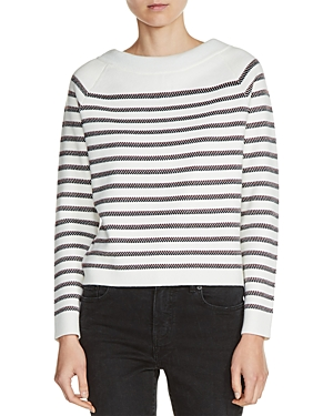 Maje Millau Striped Sweater