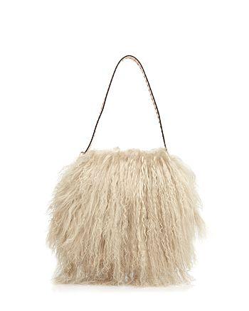 607da79bddc Tory Burch - Sawyer Small Fur Shoulder Bag