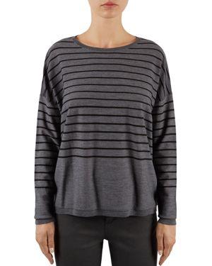 Gerard Darel Laslo Back-Button Sweater