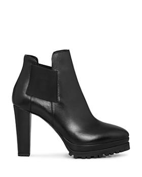 ALLSAINTS - Women's Sarris Leather High-Heel Booties
