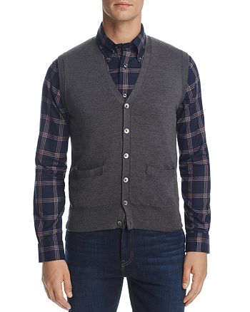 Brooks Brothers - Easycare Button Sweater Vest